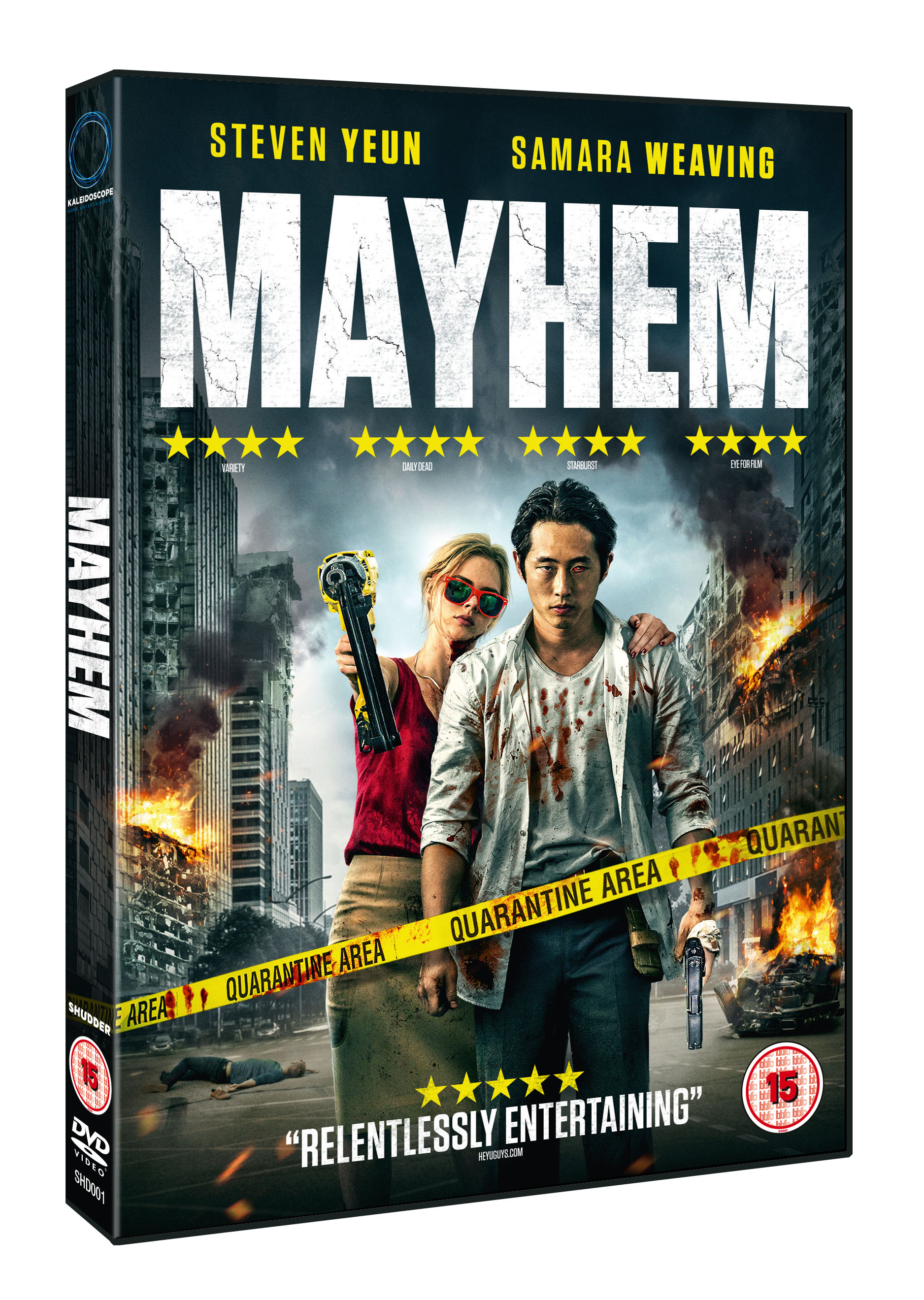 Mayhem - Win a copy of the action-horror-comedy here....