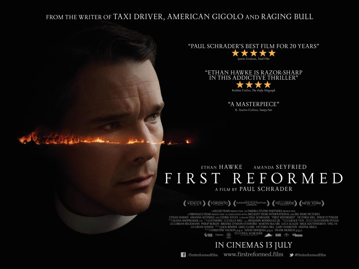 Bring A Trailer Reviews >> First Reformed - Paul Schrader's new film starring Ethan Hawke reviewed..