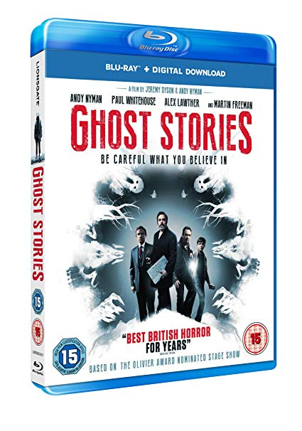 Ghost Stories dvd / blu ray - starring Paul Whitehouse & Martin Freeman
