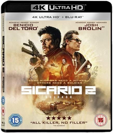 Sicario 2 - Win a blu ray of the film starring Benecio Del Toro
