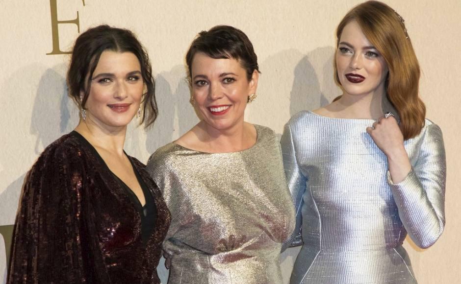 Olivia Colman, Rachel Weisz & Emma Stone - The Favourite