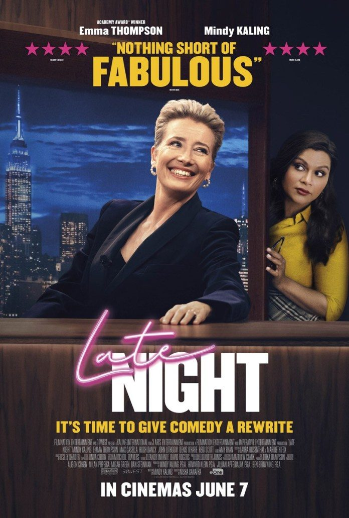 Image result for late night poster emma thompson