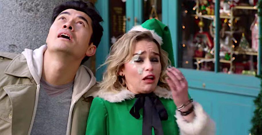 Last Christmas 2019.Last Christmas Trailer Emilia Clarke Stars As George