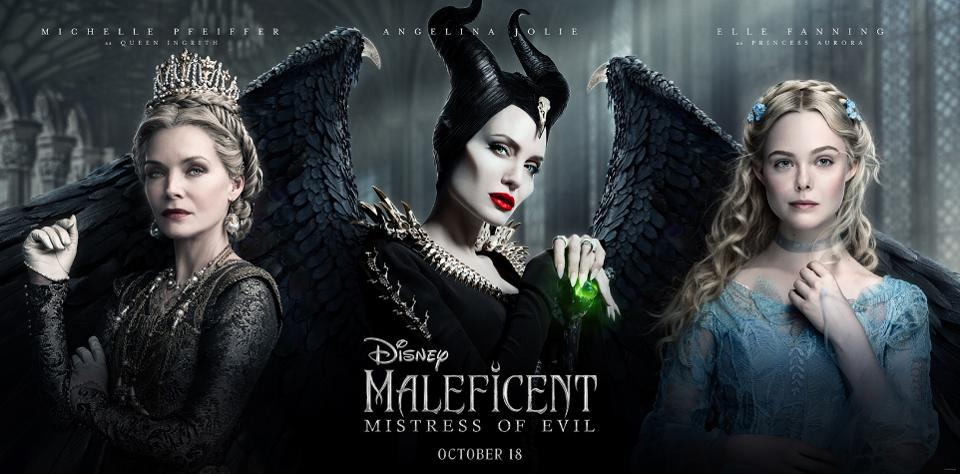 Maleficent Mistress Of Evil Angelina Jolie Starring Sequel