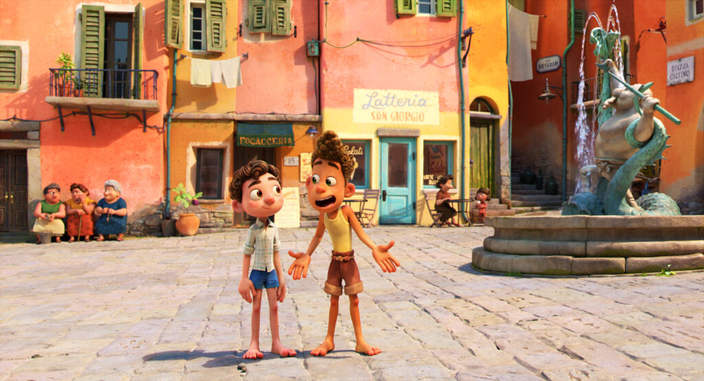 Luca trailer - a glimpse at the new summer 2021 Pixar movie!