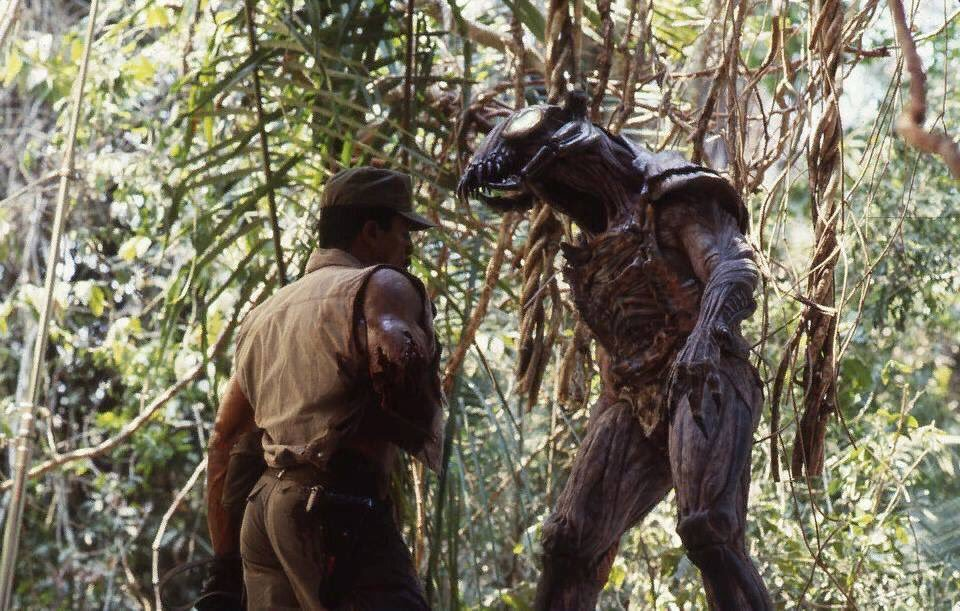 Jean Claude van Damme as Predator - It lasted only days!