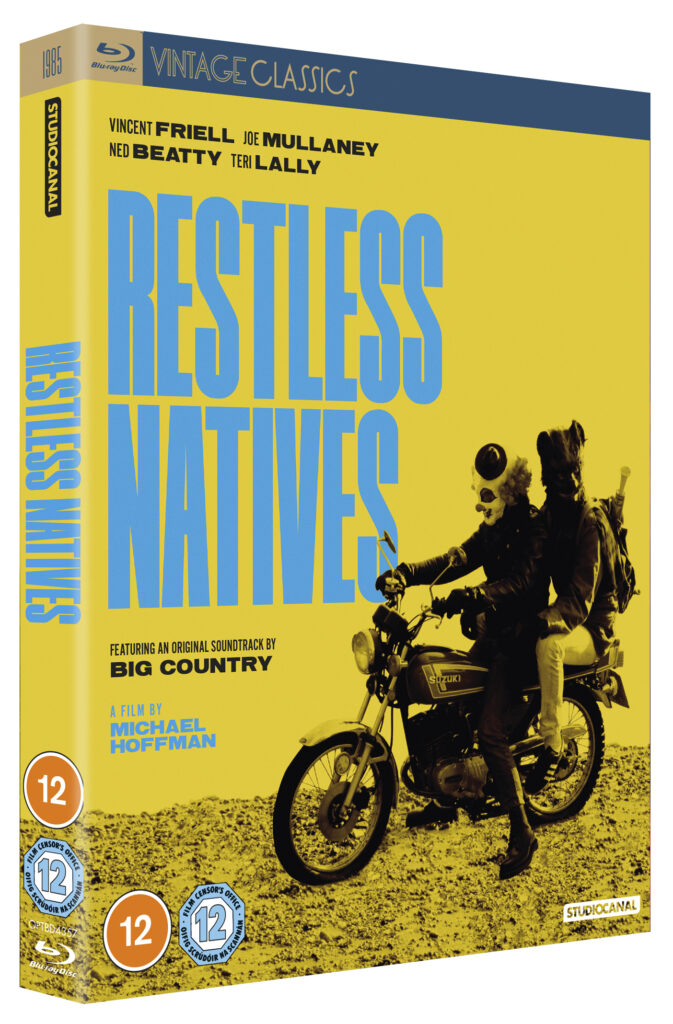 Win the classic 80's comedy Restless Natives blu-ray.......