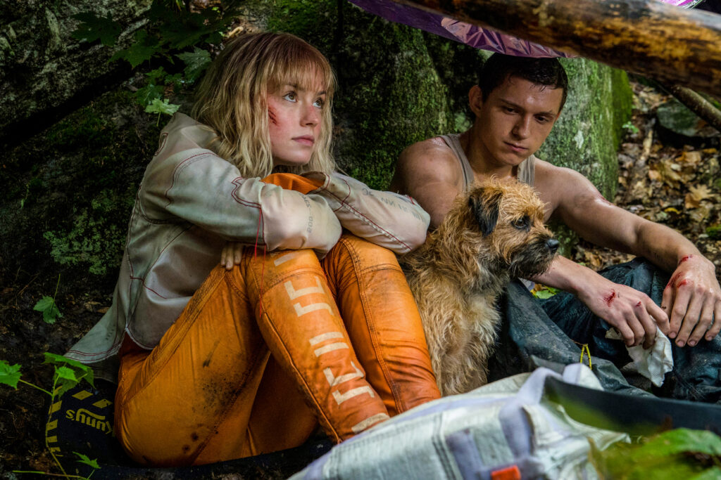 Chaos Walking - read Tom Holland's thoughts about Daisy Ridley!