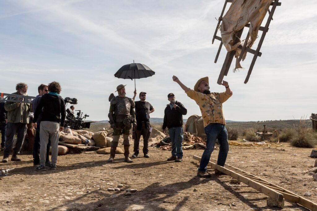 He Dreams of Giants - Terry Gilliam's nightmare film finally filmed!