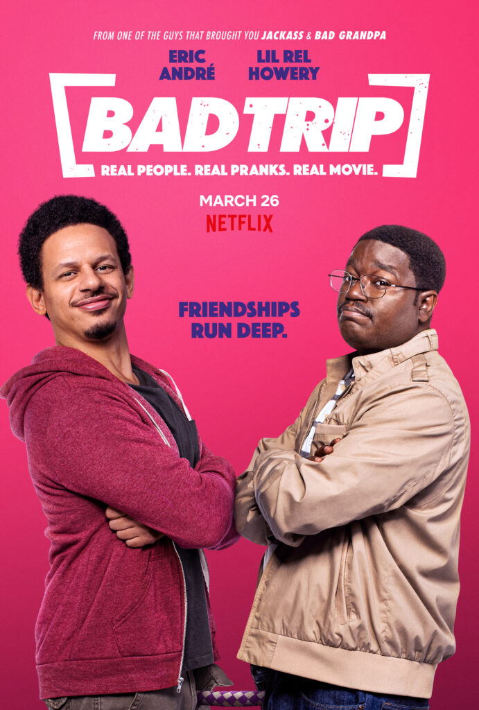 Bad Trip trailer - part scripted, part ad-libbed and some mad stunts!
