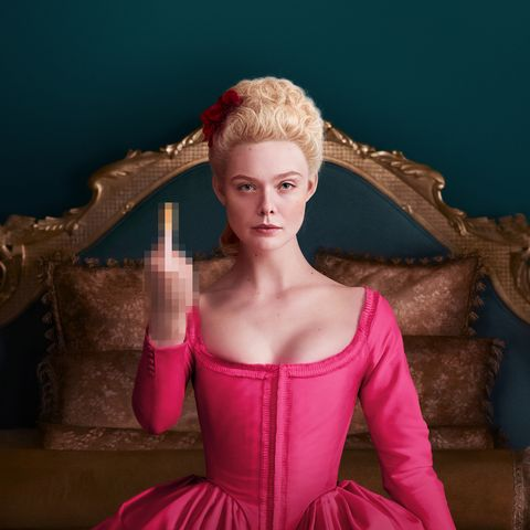 Win a 4 disc DVD set of The Great starring Elle Fanning.......