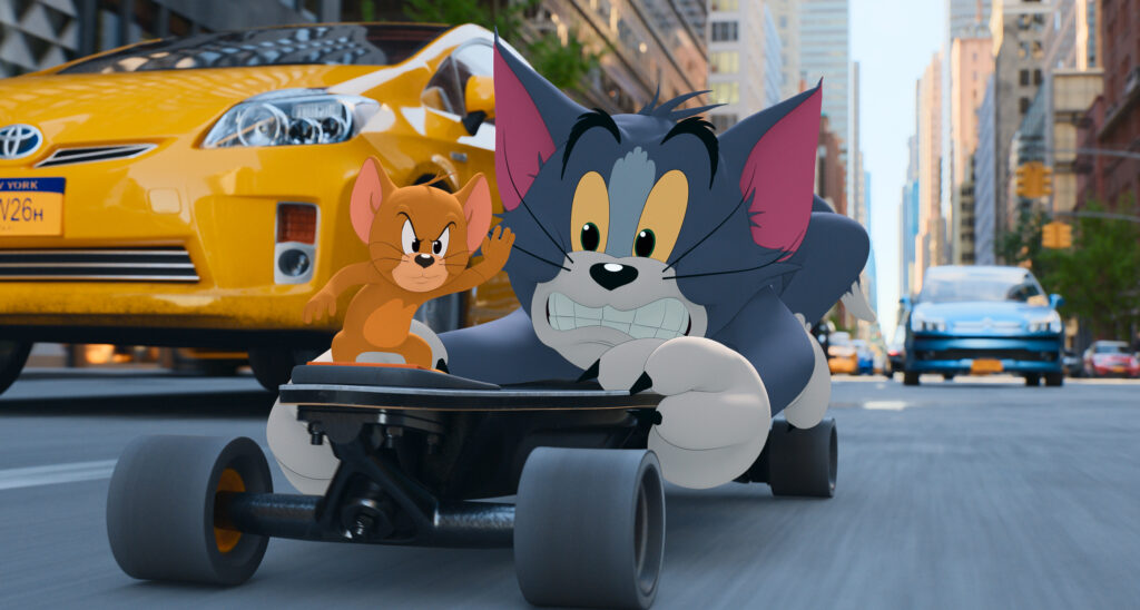 Tom and Jerry ; The Movie - the cat & mouse rivalry goes to the big screen!