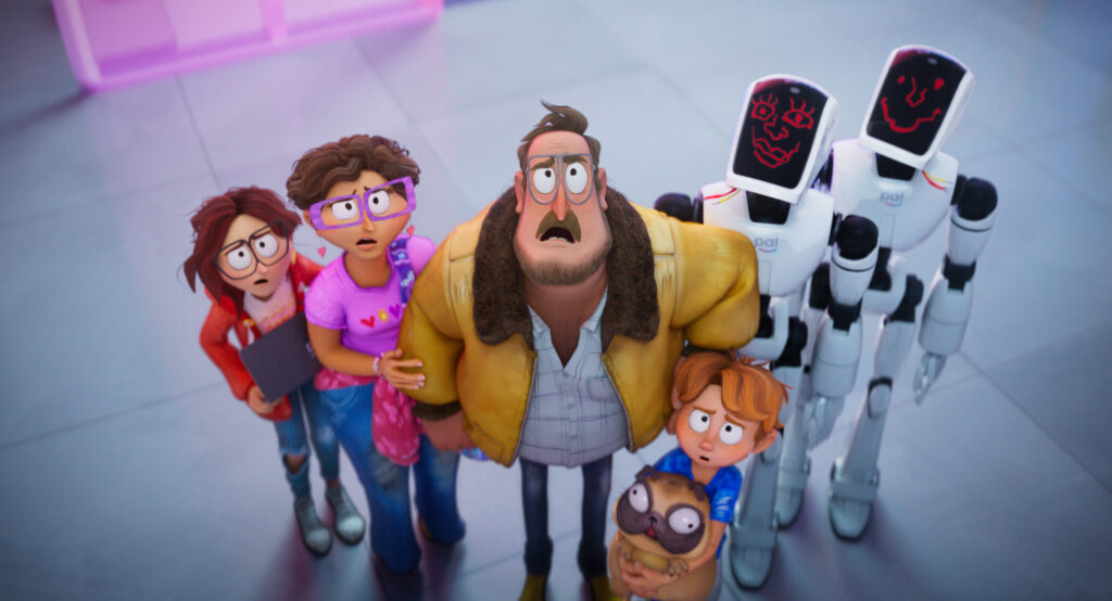 The Mitchells vs the Machines - the best family film this year so far?