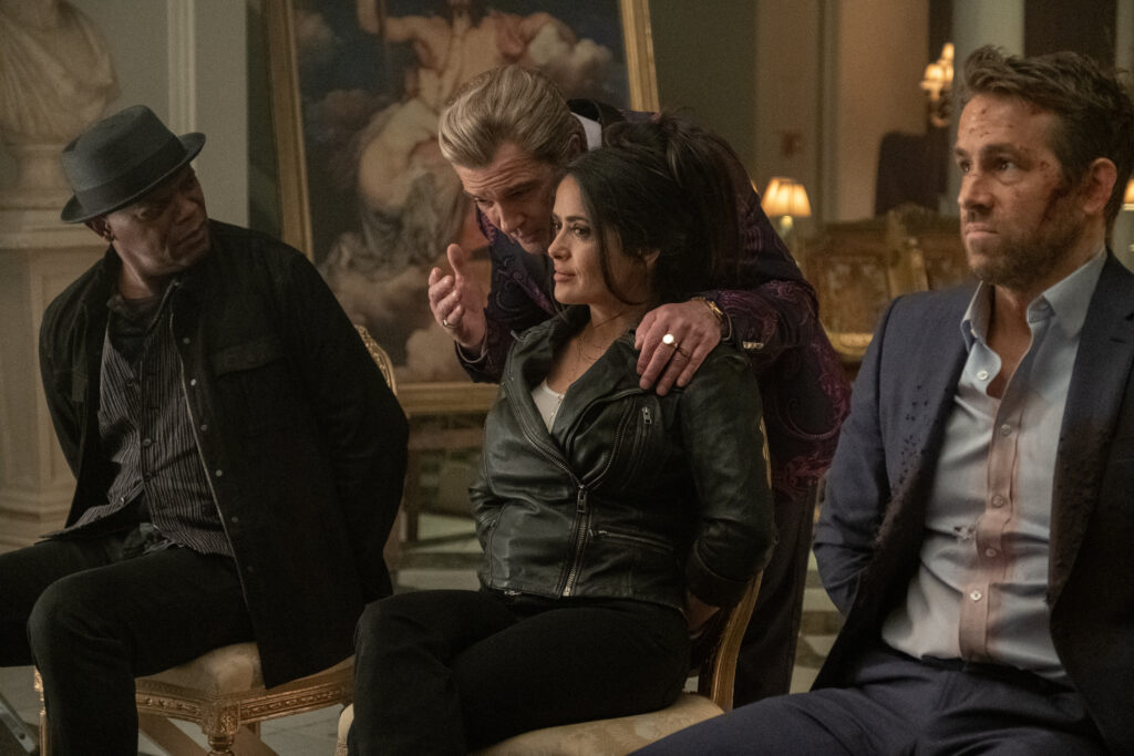 The Hitman's Wife's Bodyguard trailer - Ryan, Samuel & Salma are back!