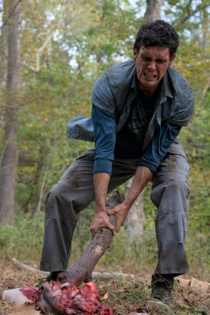 Wrong Turn blu-ray - Here's our disc review of the horror franchise reboot