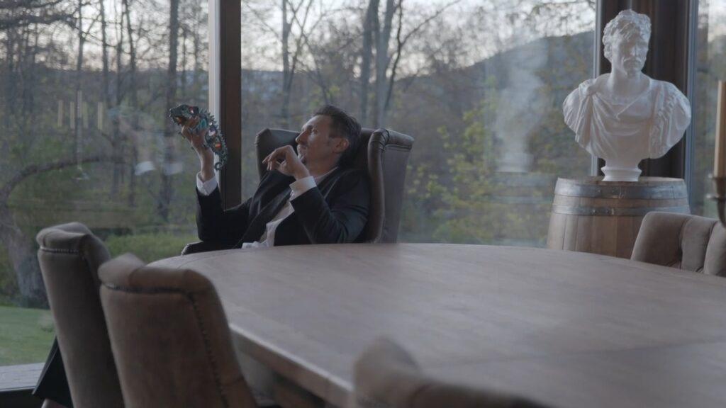 Danny. Legend. God. - a documentary crew follow a dodgy businessman