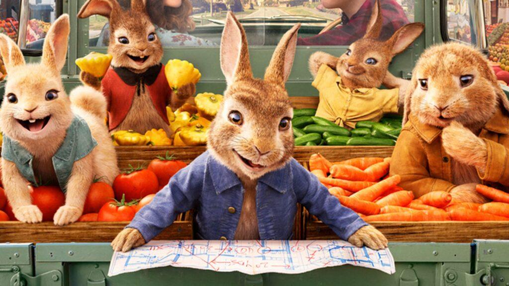 Peter Rabbit 2 trailer - the James Corden voiced rabbit is back!