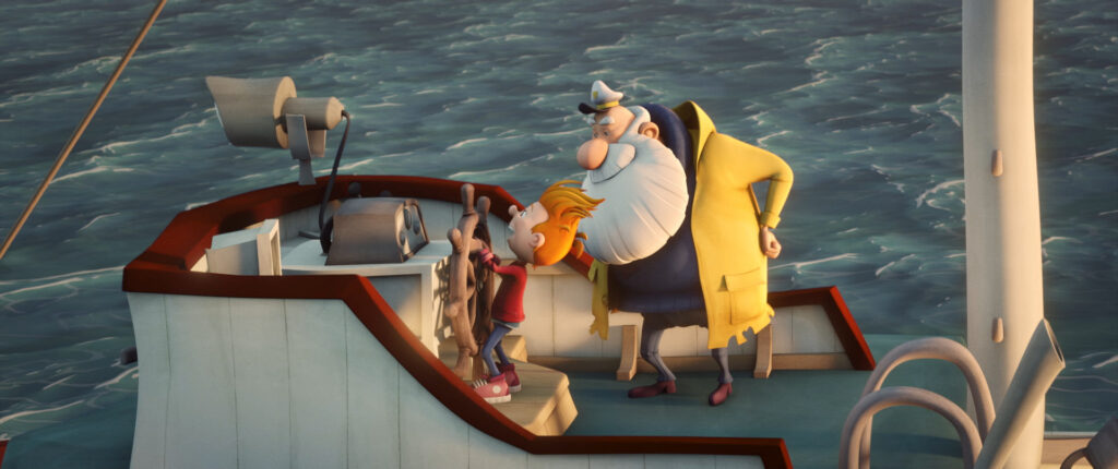 Felix and the Hidden Treasure - an animated feature for younger kids