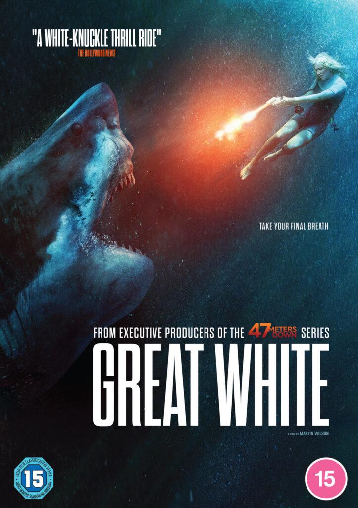 Great White' director Martin Wilson talks animatronic shark problems...