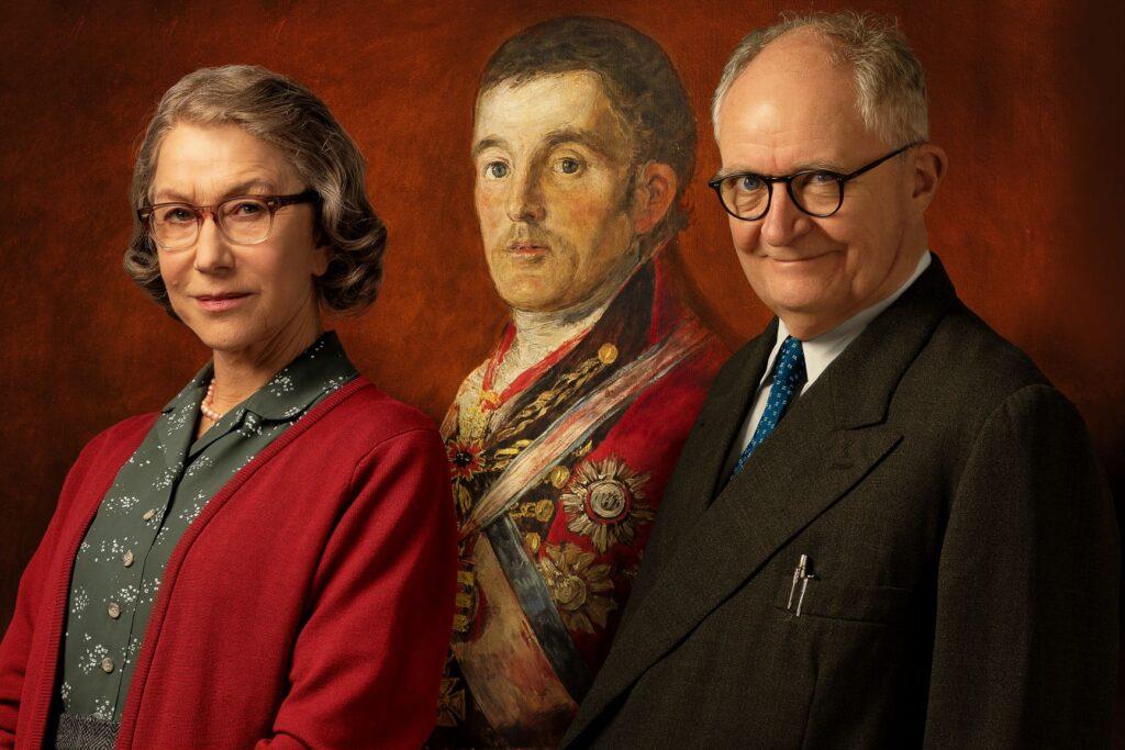 The Duke trailer - Helen Mirren & Jim Broadbent in a true life story......