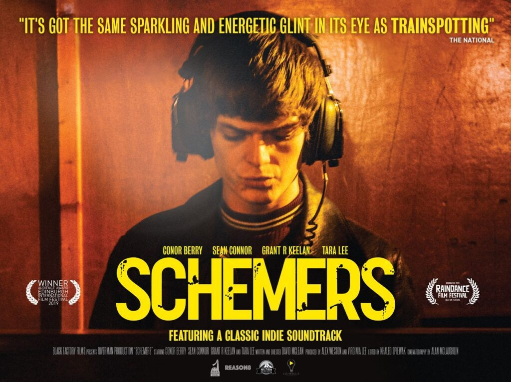 Actor Sean Connor talks about Schemers - and the worst gig ever!