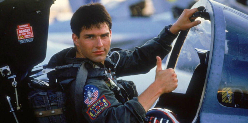 Top Gun without Tom Cruise - How that almost happened....