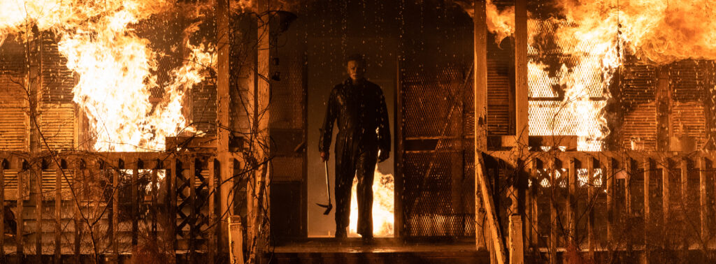 Halloween Kills trailer - Michael Myers is mad and marauding again!