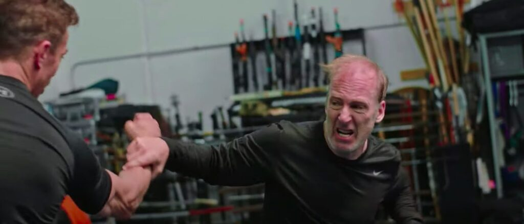 How a Nobody got a body - How Bob Odenkirk got fit to fight...