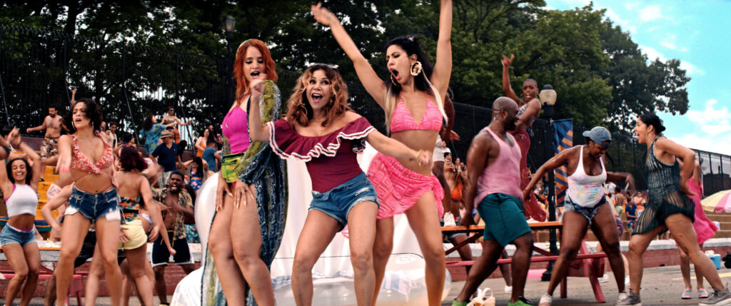 In The Heights- The Broadway box office smash musical is now a film....
