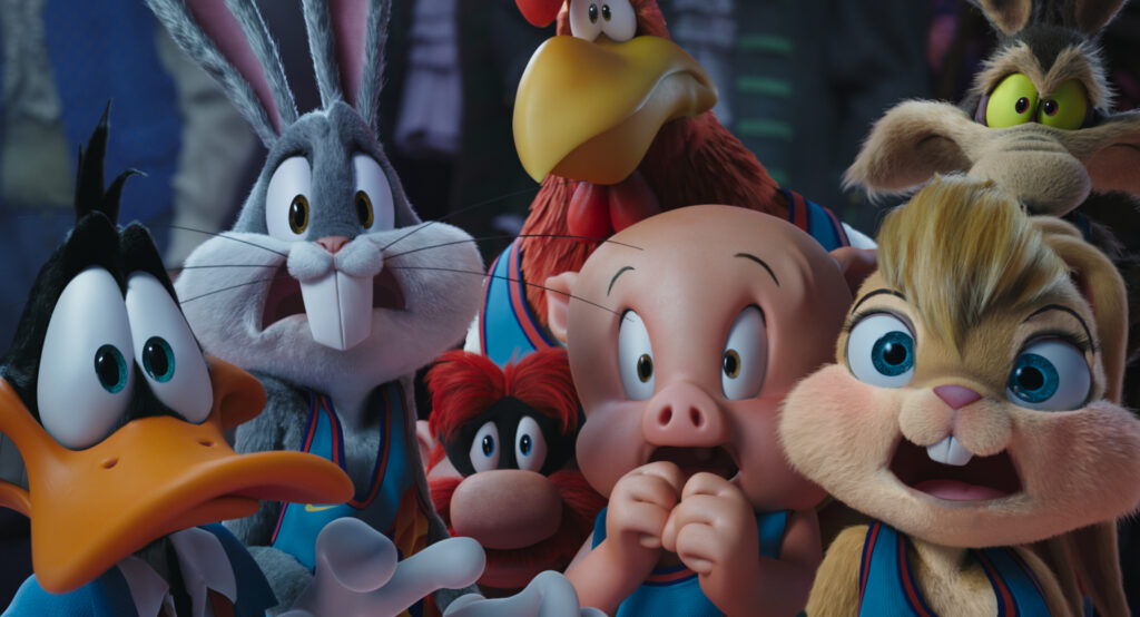 Space Jam 2 - Bugs Bunny & Co help out the legendary LeBron James