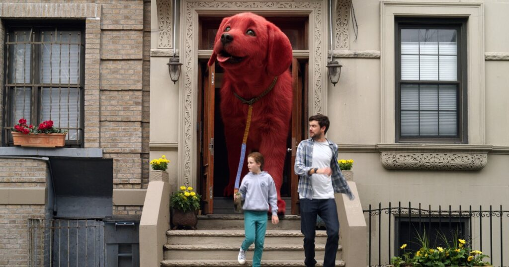 Clifford the Big Red Dog teaser trailer for the children's favourite