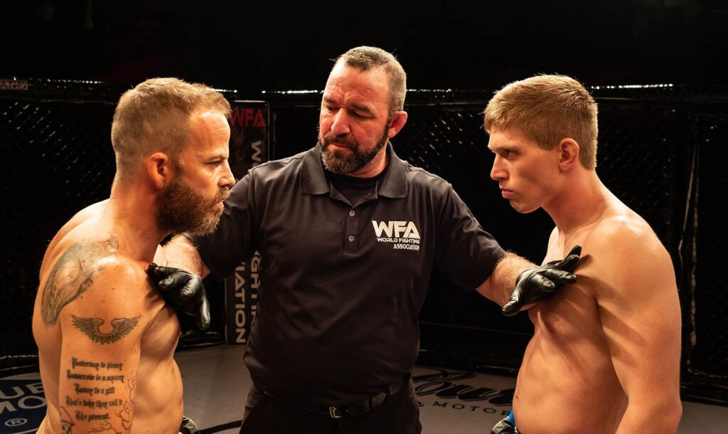 Embattled - Stephen Dorff as the most objectionable MMA fighter ever !