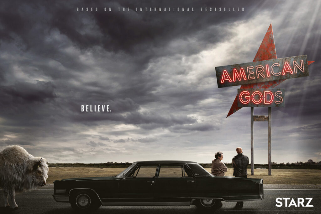 American Gods series 3 - Win a copy of the series.......