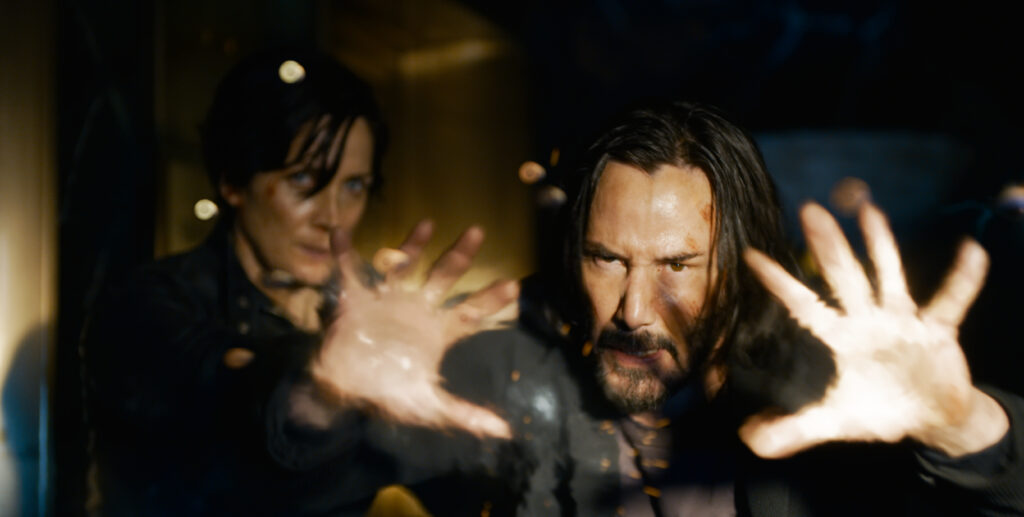 Watch the Matrix 4 trailer here.....Keanu and Carrie are back kicking ass