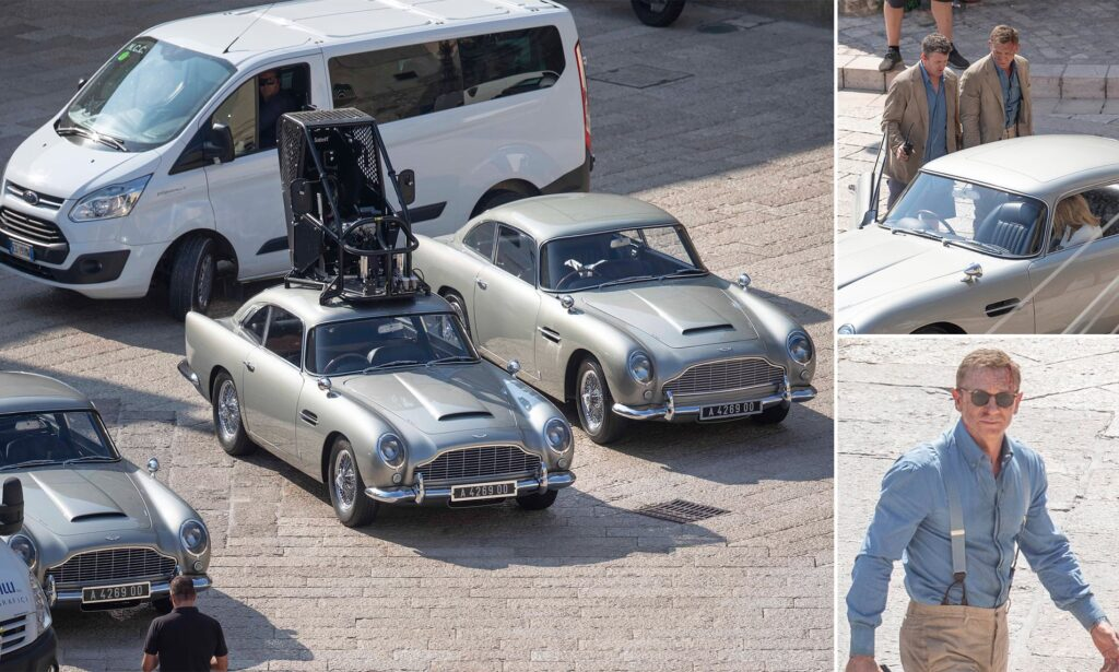 Bond's car in No Time to Die - we take a look at the all all important DB5