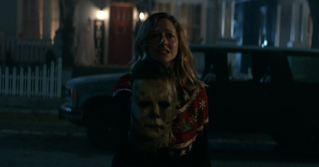 Halloween Kills....Michael's back on his murderous rampage in Haddonfield